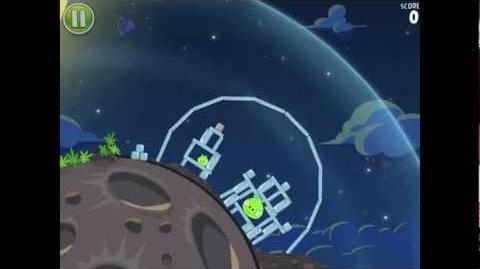 Angry Birds Space Pig Bang 1-8 Walkthrough 3-star