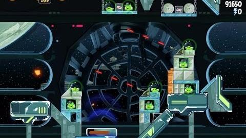 Death Star 2 6-20 (Angry Birds Star Wars)/Video Walkthrough
