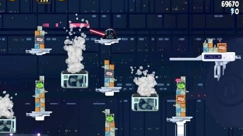 Angry Birds Star Wars 4-40 Cloud City 3 Star Walkthrough