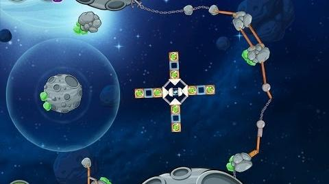 Angry Birds Space Beak Impact 8-28 Walkthrough 3 Star