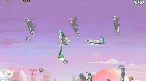 Angry Birds Star Wars 4-11 Cloud City 3-Star Walkthrough