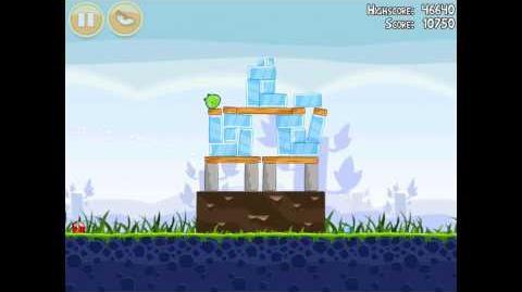 Angry Birds Poached Eggs 1-7 Walkthrough 3 Star