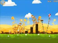 Official Angry Birds Seasons Walkthrough Summer Pignic 1-4