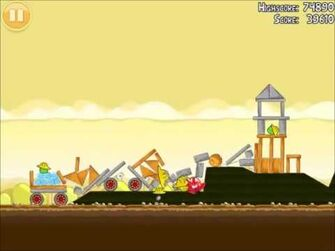 Official Angry Birds Walkthrough The Big Setup 10-13
