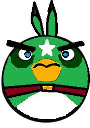 S green bomb bird