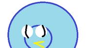 Blue Exploding Bird