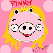 Pinky the princess pig by angrybirdsrocks-d4na5b9