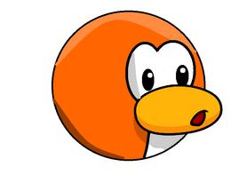 Orange pengin