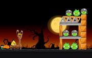 Angry Birds Seasons - Level 4-3 - Trick or Treat II