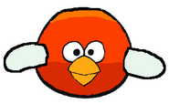 Red Flappy Angry Bird