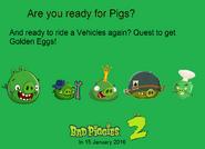 Bad Piggies 2 Poster