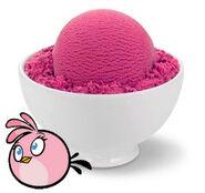 Pink Bird Ice Cream