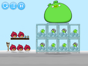 Angry Birds Snow Of The Snorks - Level 1-4