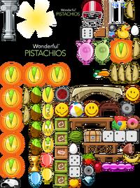 Angry Birds Golden Pistachio Sprites