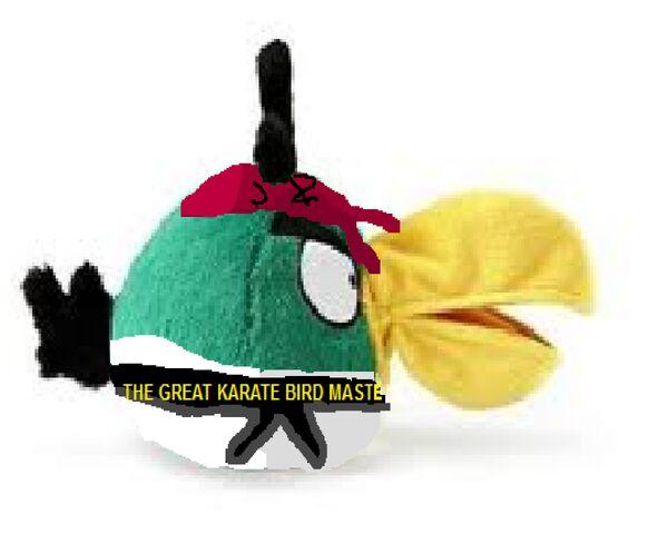 Archivo:Karate Boomerang Bird Plush Side View.jpg