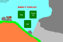 Birds n' vehicles title screen
