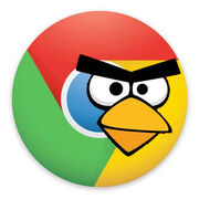 Chrome bird new