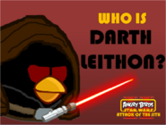 Who Is Darth Leithon Poster