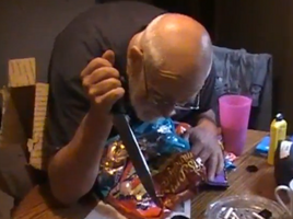 Angry granpa