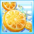 Fresh drink lemon x grape