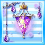 Sicilian Glass Lamp Purple