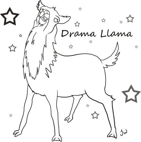 File:Drama llama template by aurigale-d4efej6.jpg