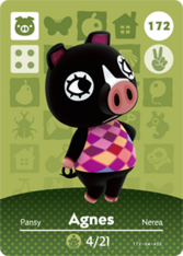 Amiibo 172 Agnes