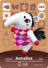 Amiibo 083 Annalisa