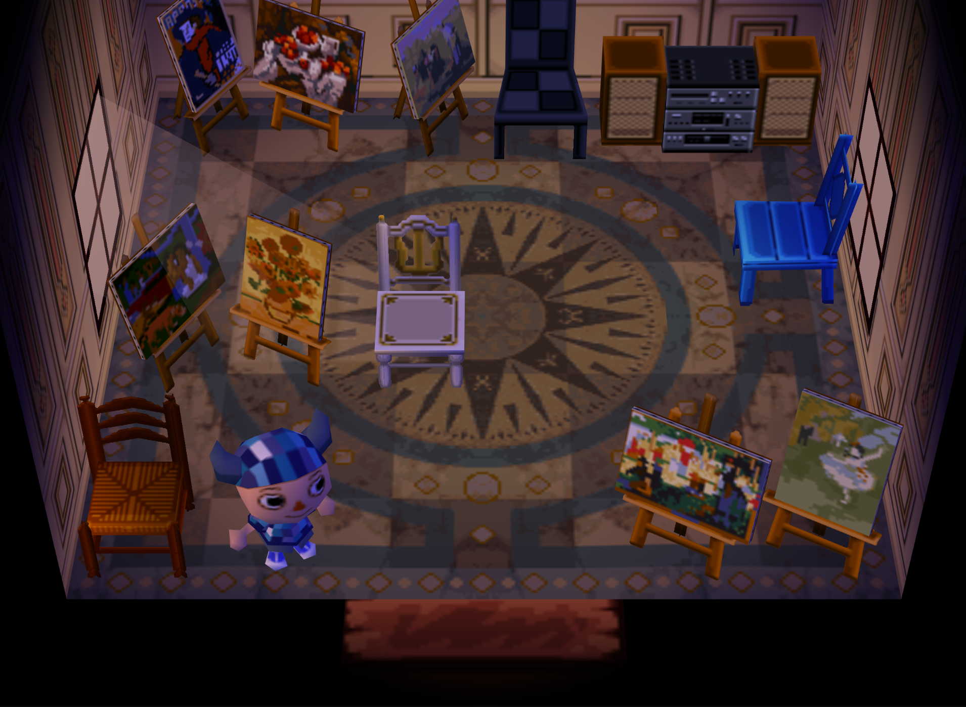 Luppa animal crossing wiki fandom powered by wikia for Extension maison animal crossing wild world