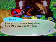 Talking To Butch Animal Crossing GC