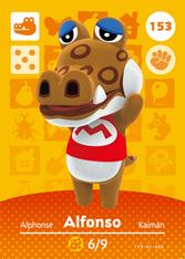 Amiibo 153 Alfonso
