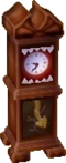 Creepy clock