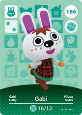 Amiibo 156 Gabi