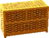 Cabana dresser gold