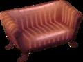 Classic sofa violet