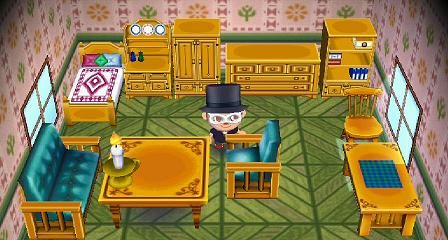 Animal Crossing New Leaf Room Sets