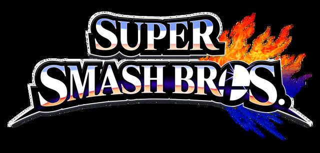 File:Super Smash Bros 4 merged logo, no subtitle.png
