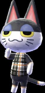 -Punchy - Animal Crossing New Leaf