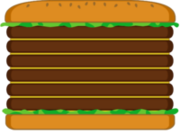 Hamburger-paper