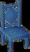 Blue chair NL