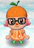 Tangerine look