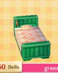 Green Bed