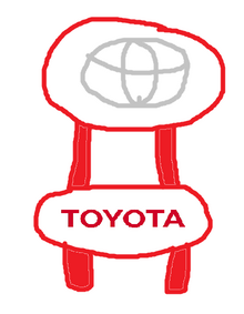 An example of a Toyota Furniture in ACNL