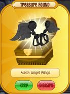 Bitter-Sweets Bat Mech-Angel-Wings Black