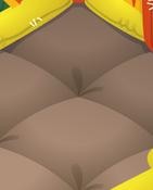 Bounce-House Brown-Tile