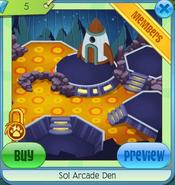Diamond Den Sol Arcade