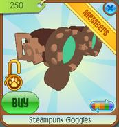 Shop Steampunk-Goggles Green 2011