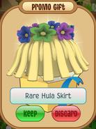 Daily-Spin Rare-Hula-Skirt