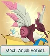 Gift Mech-Angel-Helmet Pink