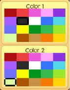 Pet owl colors